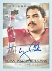 TONY CASILLAS 2011 UD COLLEGE FOOTBALL LEGENDS AUTOGRAPH AUTO 70