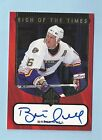 BRETT HULL 1997 98 SP AUTHENTIC SIGN OF THE TIMES AUTOGRAPH AUTO
