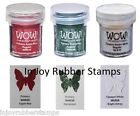 Wow Embossing Powder Christmas Colors Primary Apple Red Evergreen Bright White