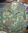 VIETNAM PERIOD USAF ERDL JUNGLE JACKET W/IN COUNTRY PATCHES.