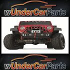 Warn 87600 Rock Crawler Stubby Front Bumper w/Grille Guard Tubes