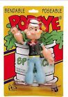 BENDABLE BENDY POPEYE Sealed On Card Cardback