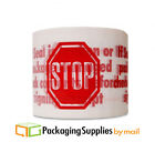 STOP Sign Printed Packing Tape 2 Mil 2 x 110 Yards 360 Rolls 10 Cases