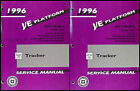1996 Geo Tracker Shop Manual 2 Volume Set 96 Chevrolet Chevy Repair Service LSi