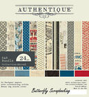 Travel Abroad Collection 6x6 Scrapbooking Paper Crafting Pad Authentique NEW