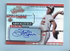 JIM PALMER 2002 PLAYOFF ABSOLUTE ABSOLUTELY INK AUTOGRAPH AUTO