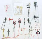 16x Artitec Brass HO 1:87 Dutch SIGNALS & RAILWAY CROSSING WARNING LIGHTS Set NM