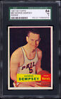 1957-58 Topps #60 George Dempsey Rookie Card SGC 84 Near Mint