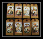MERMAIDS AND SHELLS PRIMITIVE HANG TAGS VINTAGE DESIGN