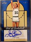2013 LARRY BIRD Leaf Best of Basketball Blue Autograph RARE 10 10!! like 1 1!!