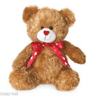 Boyds Bear Plush  ~ Lovey  ~ Valentine's Day  2014  New  Free ship Red Heart Bow