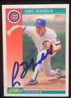 Greg Maddux Cards, Rookie Cards and Memorabilia Guide 31