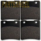 Front Rear Kevlar Carbon Brake Pads 1987-2004 Suzuki VS 1400 Intruder 1400