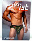 2(x)ist  Men Underwear No-Show Brief   Camo 2xist  6720  (T33,35)