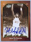 MICHEAL RAY RICHARDSON 2009-10 UD GREATS OF THE GAME AUTO AUTOGRAPH SP
