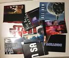 TOPPS PROMOTIONAL BOX POSTERS X9 DIFFERENT STAR WARS RELEASES GALAXY 4,5,6,7 +