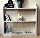 Free standing shelving unit wooden bookshelf uk made hand painted 17 colours