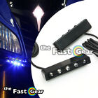 Set Running Fairing Footpegs Lighting Set Blue LED Lights