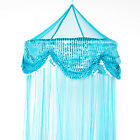OctoRose hoop with sequins bed canopy mosquito net fit all size bed many color