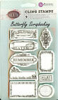 Remember Unmounted Rubber Stamps Set Rubber With Cling Foam Prima Inc New
