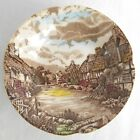 Olde English Countryside Brown Fruit / Dessert Bowl by Johnson Bros. England