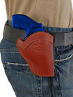 NEW Barsony Burgundy Leather Western Style Holster Taurus 22 38 357 Snub Nose 2