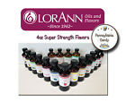 NEW LorAnn Oils 4 oz Super Strength Flavoring Flavor Extracts Four oz Bottle