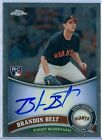 BRANDON BELT 2011 TOPPS CHROME RC ROOKIE AUTO AUTOGRAPH SP