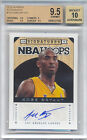2013-14 Hoops Autographs #110 Kobe Bryant Auto Lakers BGS 9.5 Gem Mint 10 Auto