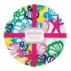 Lilly PULITZER Melamine CHIQUITA BONITA  PLATE SET 4 plates Outdoor dining NEW