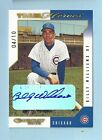 BILLY WILLIAMS 2003 DONRUSS TEAM HEROES SIGNATURE AUTOGRAPH AUTO 10 CUBS