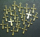 20 PIECES Cross Charms Pendants Christian Jewelry Beading Arts  Crafts Project