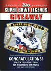 2011 Topps Super Bowl Legends Giveaway #SBLG5 Emmitt Smith