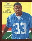 2009 Topps National Chicle Mini Pigskin #68 Mike Goodson 1