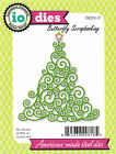 Christmas Tree Swirl American made Steel Dies Impression Obsession DIE091 P New
