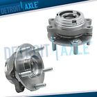 Front Left  Right Wheel Hub  Bearing Assembly Pair AWD w ABS for Infiniti