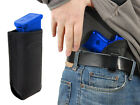 NEW Barsony Black Leather IWB Holster + Mag Pouch for Taurus Compact 9mm 40 45