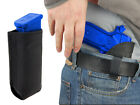 New Barsony Black Leather IWB Holster + Mag Pouch for Taurus Full Size 9mm 40 45