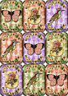 9 BUTTERFLIES HANG GIFT TAGS FOR SCRAPBOOK PAGES 04
