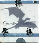 Game Of Thrones Season 3 Factory Sealed Trading Card Hobby Box