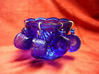 CHILD'S MINI PUNCH BOWL DISH SET COBALT BLUE