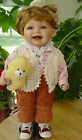 LSSL A Vintage Goldenvale Porcelain Doll Life like Toddler w/ New Tooth 20