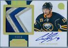 CODY HODGSON 2011-12 DOMINION GAME USED JERSEY PATCH AUTO AUTOGRAPH SP 19