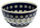 Polish Pottery Ice Cream / Cereal Bowl  from Zaklady Boleslawiec 9711/312