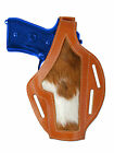 New Barsony Tan Leather Custom Gun Holster Smith  Wesson Full Size 9mm 40 45