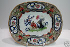 ANTIQUE ENGLISH IRONSTONE MINTON & HOLLINS MINTONS JAPANESE PLATtER