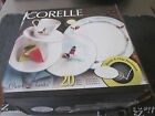20 Pieces Corelle Outer Banks Pattern New in Box Service for Four