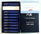 1999 - 2009 US Mint State Quarters Clad Proof Complete Set