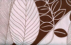 Quilt Fabric Alexander Henry Capri Pink Brown Tropical Leaves FREE SHIPPING!!