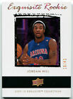 2009-10 Upper Deck Exquisite Collection JORDAN HILL Gold Rookie RC SP Lakers 43